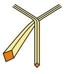 Pratt Knot step 2