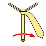 Pratt Knot step 4