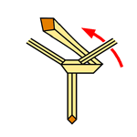 Pratt Knot step 5